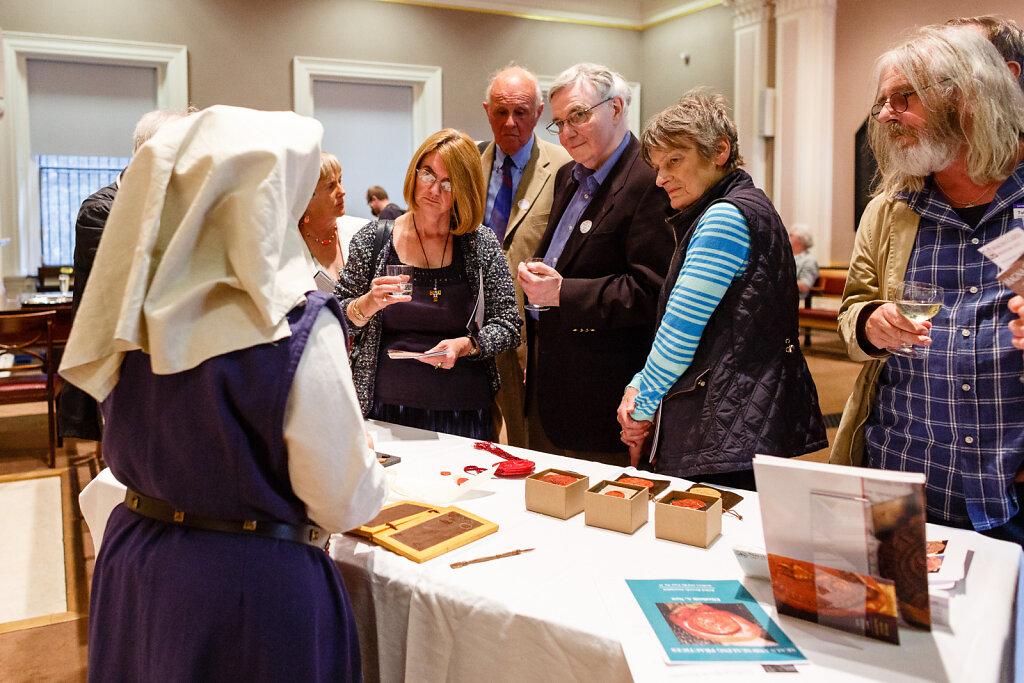 Magna Carta Exhibition at the Society of Antiquaries, London